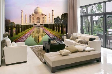 Taj Mahal mausoleum wallpaper mural